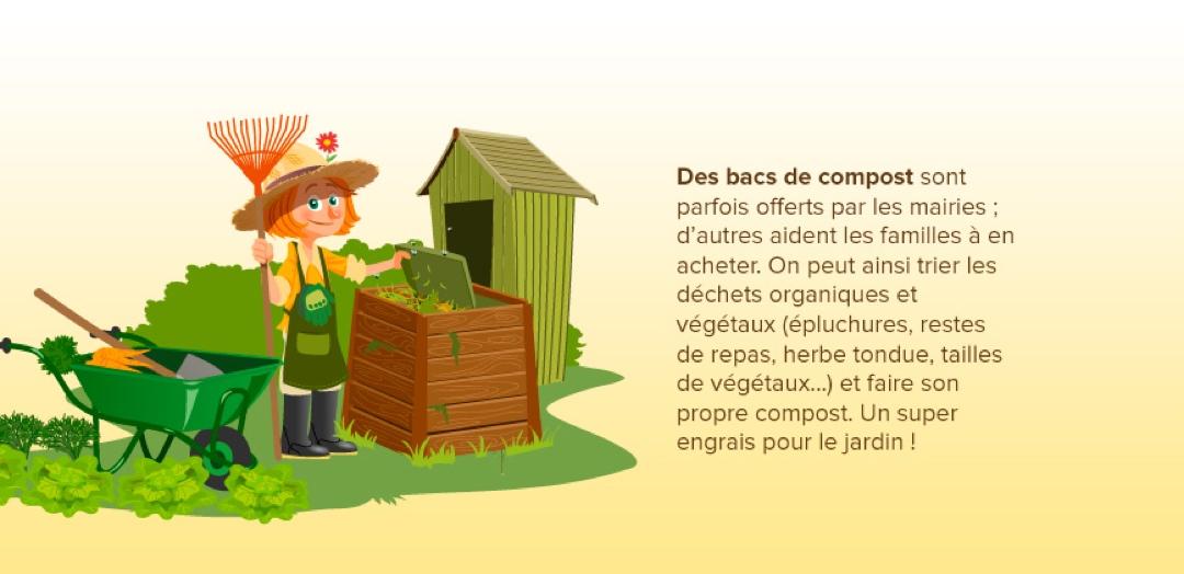 Bacs de compost