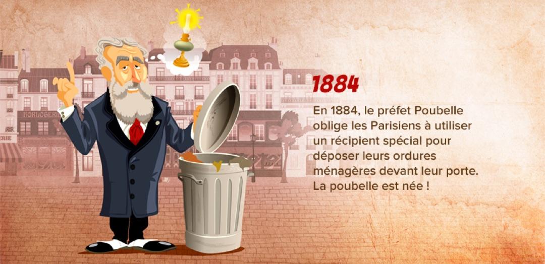 le préfet Poubelle inventeur de la poubelle